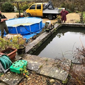 pond-cleaning-bibury-gloucestershire-1