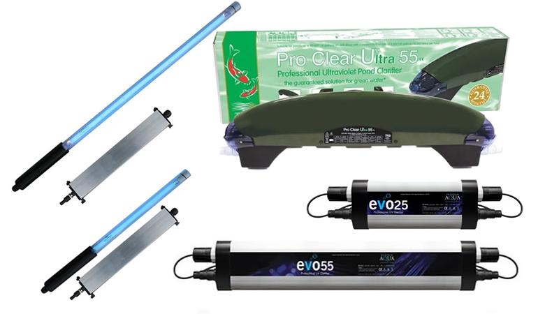 2 x GENUINE GREEN CLEAR® 25W 25 WATT UV UVC BULB BULBS LAMP LAMPS KOI FISH POND