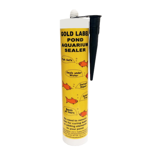 Gold label underwater pond sealer cotswold koi pond for Koi pond sealer