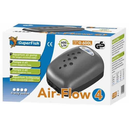 SuperFish Air-Flow 4 Way Air Pump