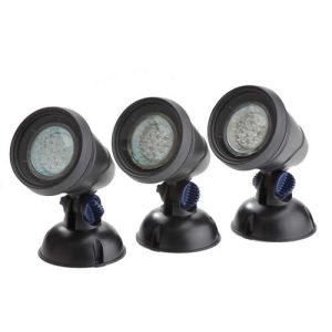 LunAqua Classic LED Pond Light Set 3