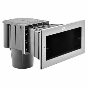 Oase ProfiSkim Wall Wide Mouth Stainless Steel Faceplate