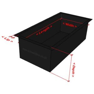 box welded pond liners